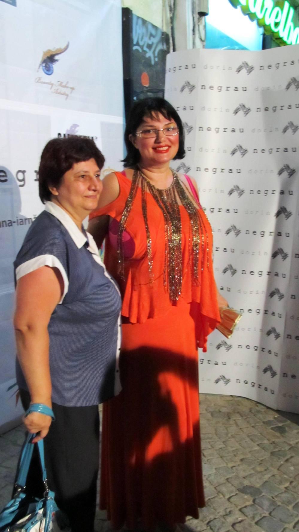 Ozana Barabancea - lansarea colectiei Visions a designerului Dorin Negrau