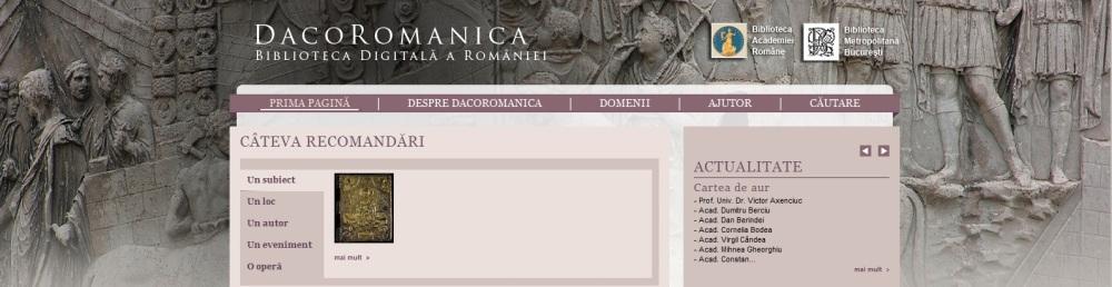 Dacoromanica