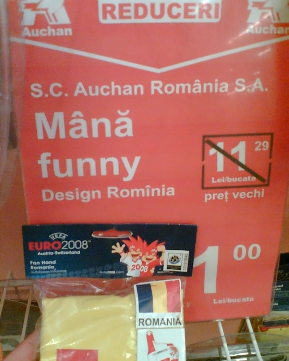 Mana funny Auchan